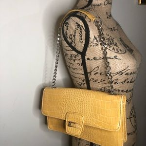 Fashionista chain clutch shoulder bag